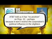 Disconnected From Reality: Prop. 32's AT&T Ad -- Los Angeles Alliance For A New Economy