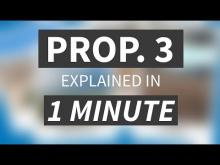 """Proposition 3 Explained in Under 1 Minute"" from CALMatters"