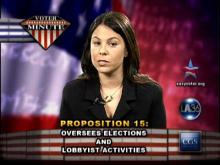 Voter Minute: Proposition 15 -- Center for Governmental Studies