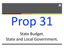 Proposition 31: Budget Reform (California General Election 2012) -- The Darryl Johnson Show