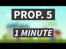 """Proposition 5 Explained in Under 1 Minute"" from CALMatters"