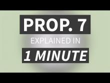 """Proposition 7 Explained in Under 1 Minute"" from CALMatters"