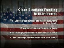 Clean Elections: Changing the Face of Democracy -- California Clean Money Campaign