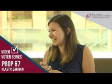 Claremont McKenna College Video Voter - Prop. 67: Plastic Bag Ban