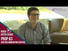 Claremont McKenna College Video Voter - Prop. 63: Gun and Ammunition Control