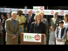 "CTA - ""Prop 30 is the right thing to do for our students."" -- California Teachers Association"