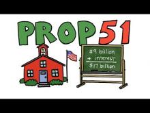 KQED Props in a Minute: Prop 51 - School Bonds