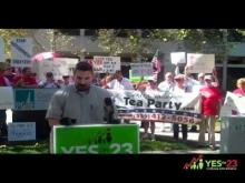 Yes on Prop 23 PG&E Rally -- Yes On Prop. 23