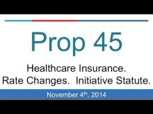 Proposition 45: Healthcare Rates (California 2014 Midterm Election)