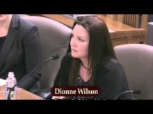 Dionne's Prop 47 Hearing Testimony HR