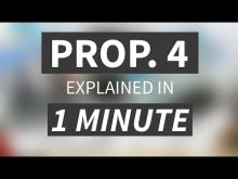 """Proposition 4 Explained in Under 1 Minute"" from CALMatters"