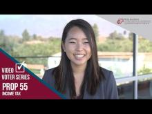 Claremont McKenna College Video Voter - Prop. 55: Income Tax