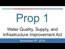 Proposition 1: Water Bond (California 2014 Midterm Election)