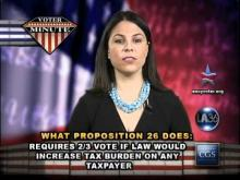 Voter Minute: Proposition 26 -- Center for Governmental Studies